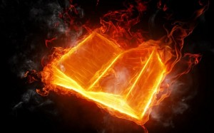 Bible on Fire